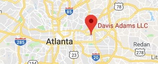 Davis Adams Atlanta Medical Malpractice Attorneys location