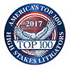 Top 100 Atlanta Medical Malpractice Litigators logo